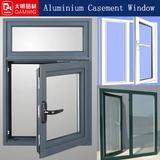 white aluminium frame glass windows powder coating