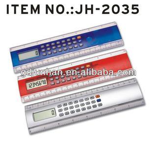 promotional transparent ruler calculator