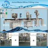 Complete water bottling machinery