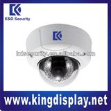 Dual Encoding Vandal-proof 3Mp Full HD IR IP Dome Camera with PoE