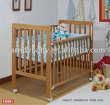 520W baby wooden bed