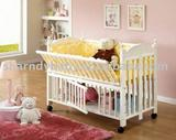 400W baby wooden bed