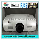 1920x1200pixels with HDI/RJ45/RS232 10000 lumens full HD 1080p projector