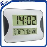 digital wall clock with alarm clock for easy read time