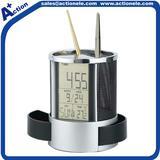 Penholder alarm digital clcok with LED backlight