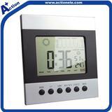 weather station digital alarm desktop clock