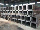 seamless square steel tube used in oil refinery