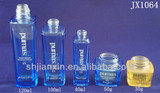 30g-120ml Square shape cosmetic glass bottles and jars for men in Shanghai