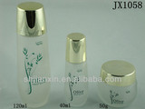30g/50g/40ml/120ml Frosted glass bottles for cosmetic with screw cap in Shanghai