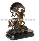 The bronze metal craft art sculpture