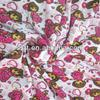 95% polyester and 5% spandex knitting printed single jersey fabric
