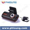 Phisung Dual lens FHD 1080P 5.0mega pixcel car camera