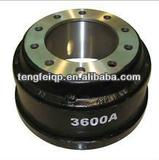 Heavy duty truck parts WEBB brake drum (3600A 3600AX 3027A 66884 3721AX)
