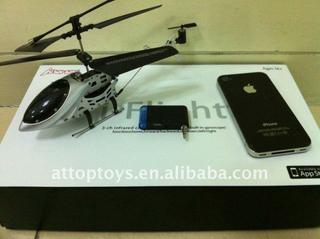 i-phone i-pad ipod helicopter