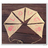burlap bunting flags LOVE for wedding or party