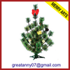 30cm mini decorated christmas tree tabletop artificial christmas tree made in china