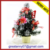 30cm mini decorated tabletop christmas tree cheap wholesale pvc christmas tree
