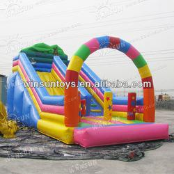 Cute Popular Children Playing High Quality Inflatable Slide