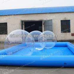 2013 new design inflatable water walking ball rental