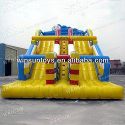 Cute Popular Children Playing Inflatable Slide for Adults