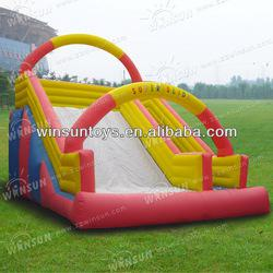 Cute Popular Children Playing New Inflatable Little Slide