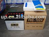 610 Dry charged 50AH car battery