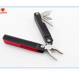 PR-6024 Promotion Gift Multi Hand Tool Pliers With led Flashlight/Folding Plier/Multiple Function Tool