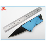 MEC509A Outdoor Portable Multi-purpose Stainless Steel Credit Card Tool/Ultra-thin Folding Knife
