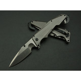 F54 High Quality Whole Steel Survival Folding Pocket Knife With Knife Belt Clip