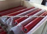 Large quantity idler rollers for belt conveyor supplied