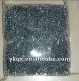 galvanized meshy scourer for kitchen cleaning