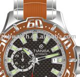 ORANGE (carbone option) WATCHES travelling watch