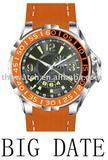 Big date watches men, diving watch, qa watch, fashion watch