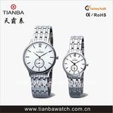 Stainless steel ODM pair watch japan quartz movement