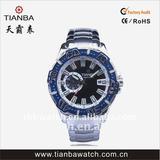 Trendy Western odm sporty wristwatch Japan mechanical movement