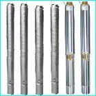 Deep well stainless steel submersible pump (QJ series)