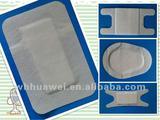 Sterile adhesive wound dressing