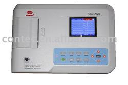 Digital Three Channel ECG Machine--CE Approved