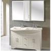 Classic pvc double basin  bathroom cabinets