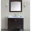 High quality pvc double basin  bathroom cabinets