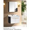 Series PVC simple bathroom cabinets