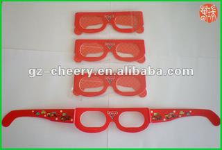 excellent paper craft 3d glasses CHG5013B