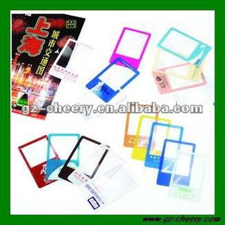reading card magnifier
