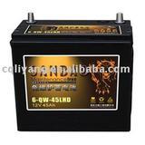 MF car battery 6-QW-45AH