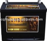 car MF/Dry battery