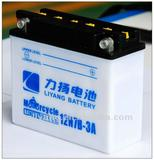Batteries/2012 Motorcycle battery 12N7B-3A with high quality 12V 7AH