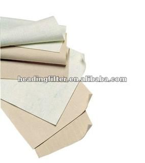 Water and oil repellent Polyester Non woven needlefelt