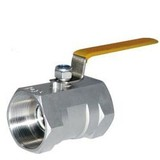 1 Piece/ 2 Pieces Body Threaded Ends Ball Valve