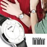 Hot selling Eyki couple quartz watches japan movt lovers' watch W8599G