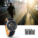 Hot sale IK luxury automatic leather band man watch watches men 98226G 16037